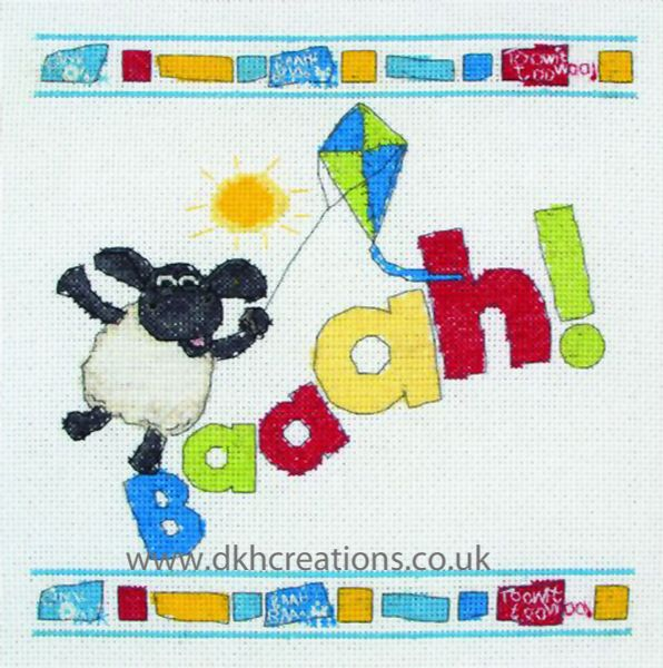 Timmy Time Timmy Baaah ! Cross Stitch Kit